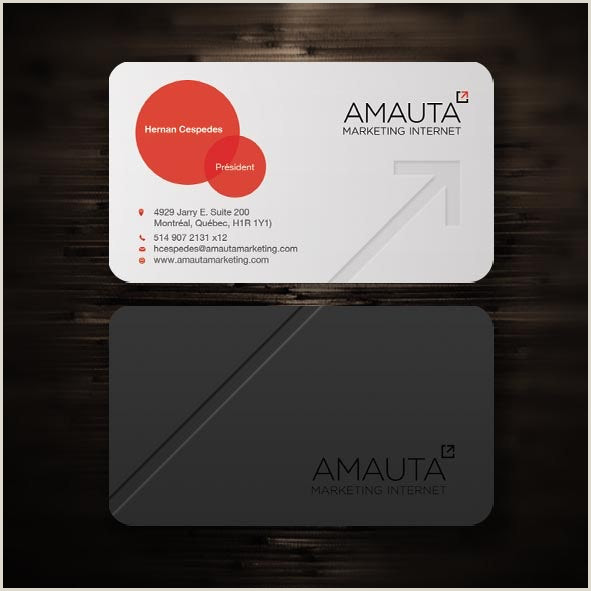 The Best Business Cards In The World 28 Top Business Card Ideas That Seal The Deal