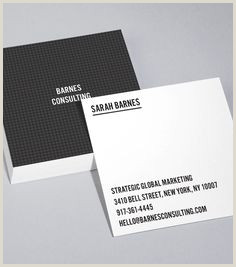The Best Business Cards In The World Square Business Cards