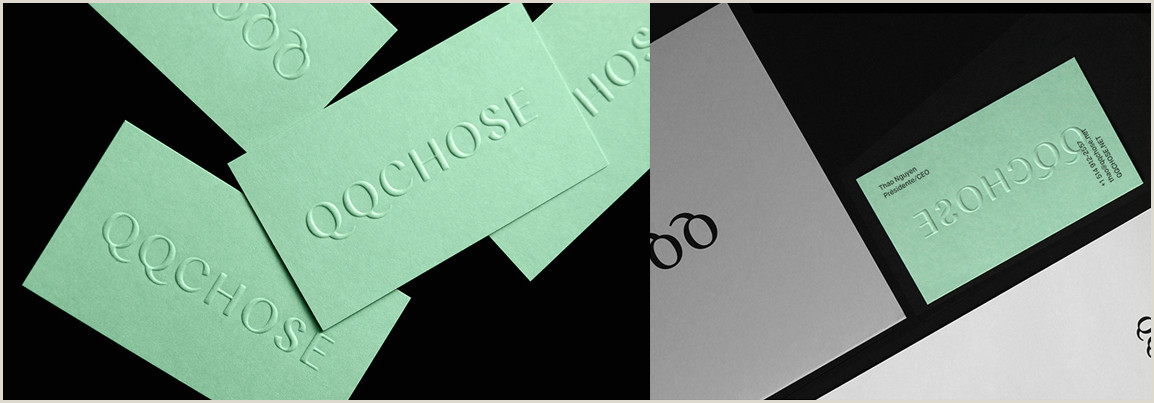 The Word Element Card  Is An Example Of A: Business Card Design Inspiration 60 Eye Catching Examples