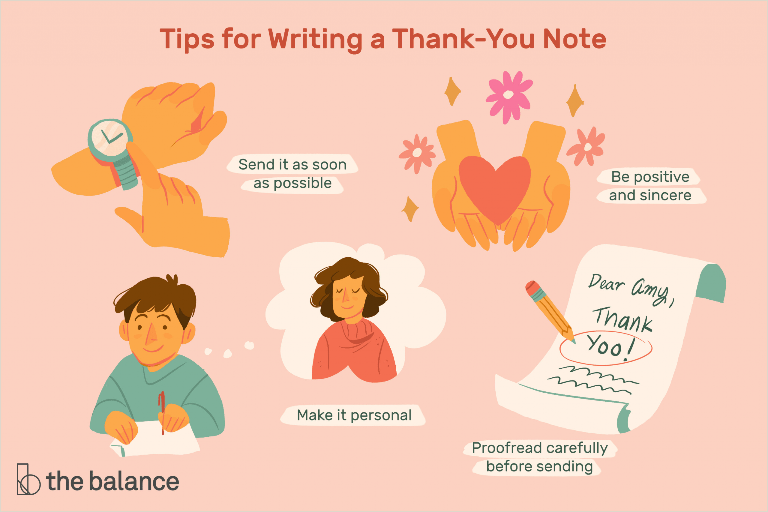The Word Element Card  Is An Example Of A: General Thank You Letter Samples And Writing Tips