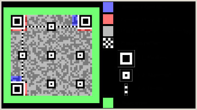 The Word Element Card  Is An Example Of A: Qr Code