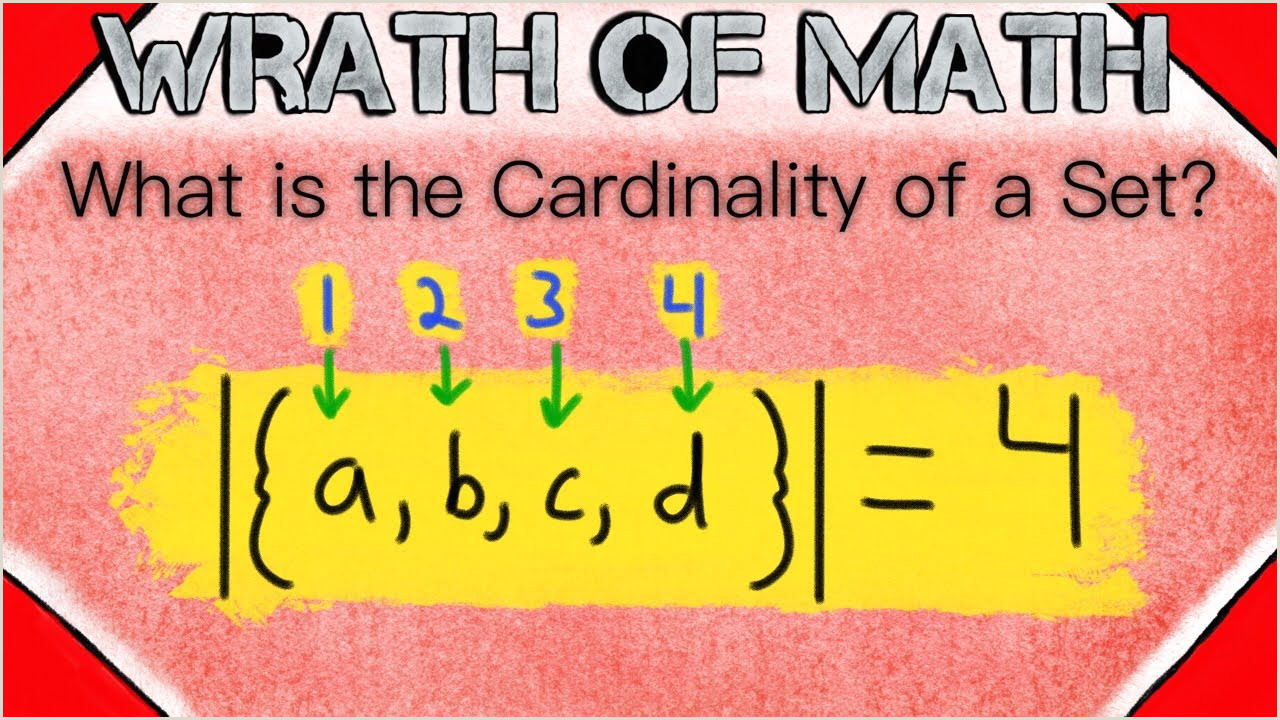 The Word Element Card  Is An Example Of A: What Is The Cardinality Of A Set