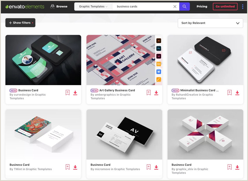 Top Business Cards Sites 18 Free Unique Business Card Designs Top Templates To