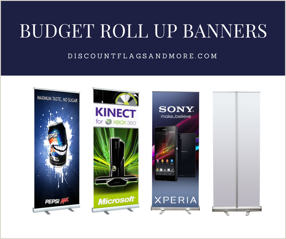 Trade Show Pull Up Banners Bud Roll Up Banner