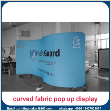 Trade Show Pull Up Banners Curved Trade Show Exhibition Display Printing China Manufacturer