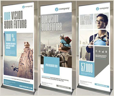 Tradeshow Pop Up Banner 20 Creative Vertical Banner Design Ideas