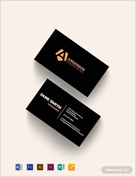 Unique Ad Agency Business Cards 10 Agency Business Card Templates Illustrator Indesign