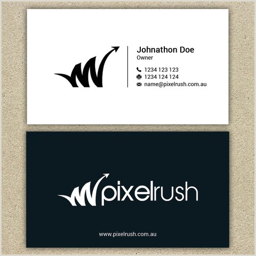 Unique Ad Agency Business Cards Business Card For Leading Digital Marketing Agency