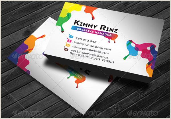 Unique Artist Business Cards 49 Artist Business Card Templates Free Psd Vector Png Ai