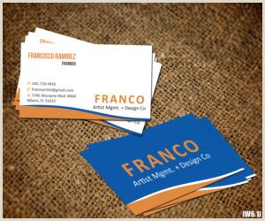 Unique Artist Business Cards Artist Business Cards