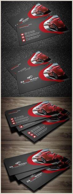 Unique Automotive Business Cards 20 Best Carwash Logo Ideas