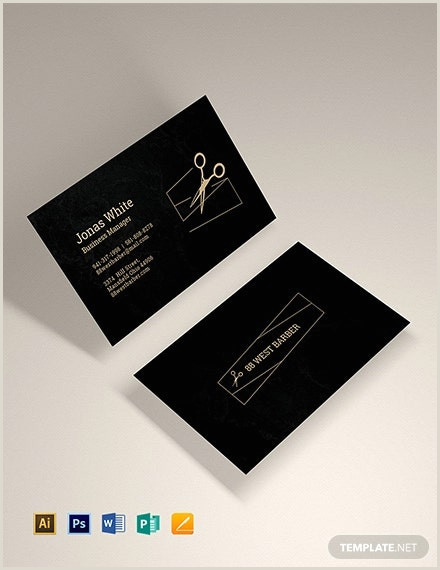 Unique Barber Business Cards 27 Barber Business Card Templates Pages Indesign Word