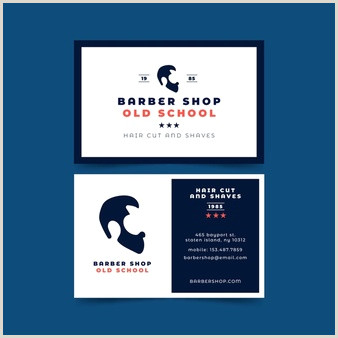 Unique Barber Business Cards Free Barber Business Card