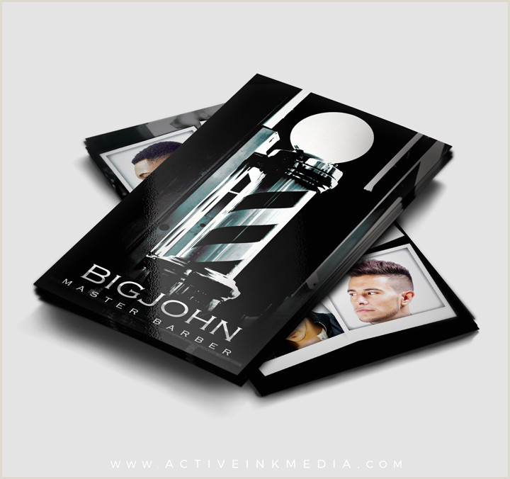Unique Barber Business Cards Top 27 Professional Barber Business Cards Tips & Examples