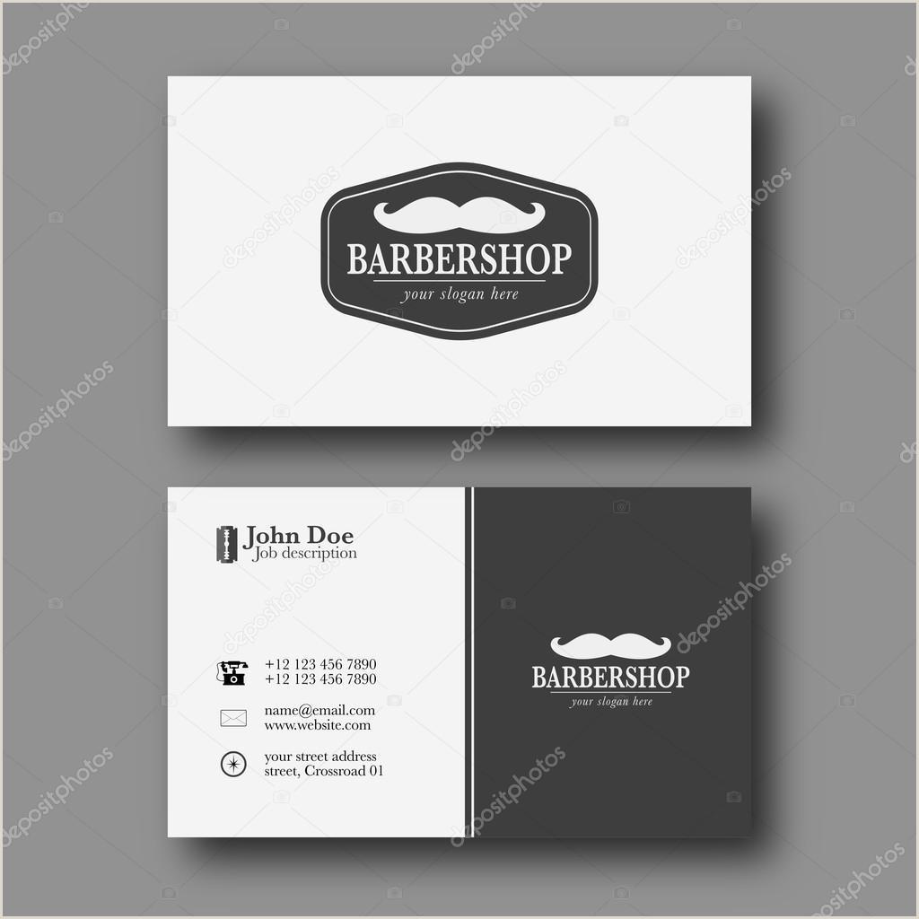 Unique Barber Shop Business Cards Barber Shop Business Card Template