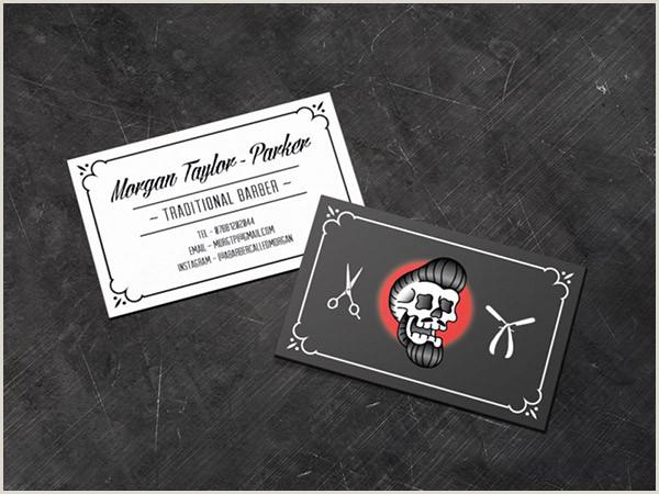 Unique Barbershop Business Cards 25 Beautiful Barber Business Card Designs