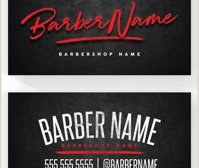 Unique Barbershop Business Cards top 27 Professional Barber Business Cards Tips & Examples