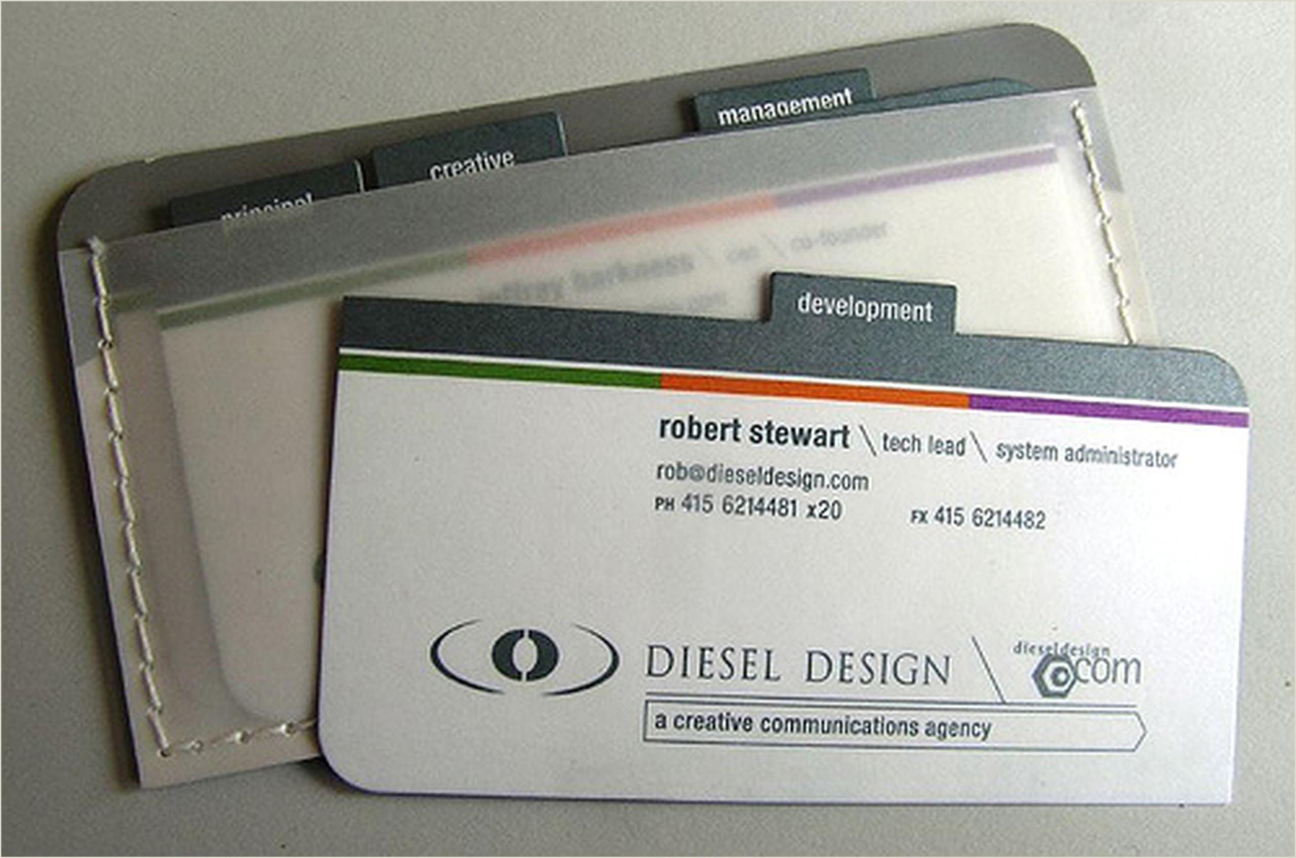 Unique Business Card 30 Unconventional Business Cards
