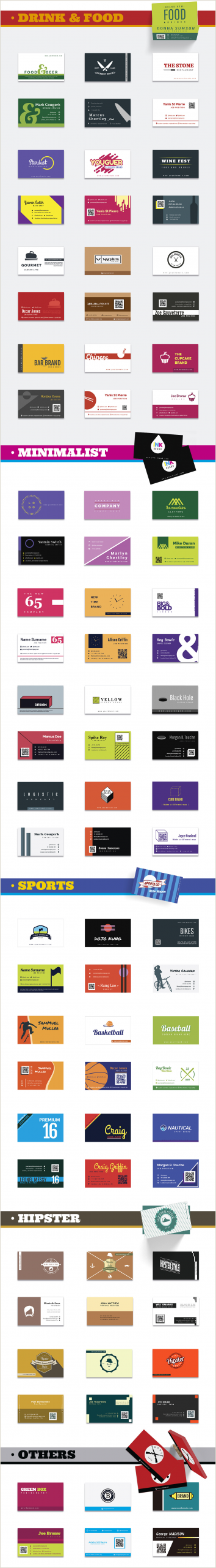 Unique Business Card Template 1000 Business Card Templates Pack Designshock Shockfamily