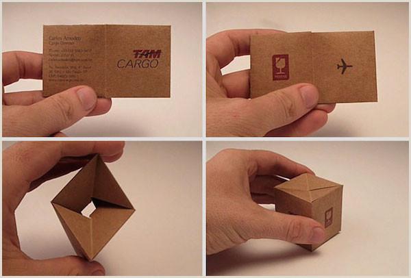 "Unique Business Cards ""nancy Nikko"" 32 Creative And Unique Business Cards That Stand Out"