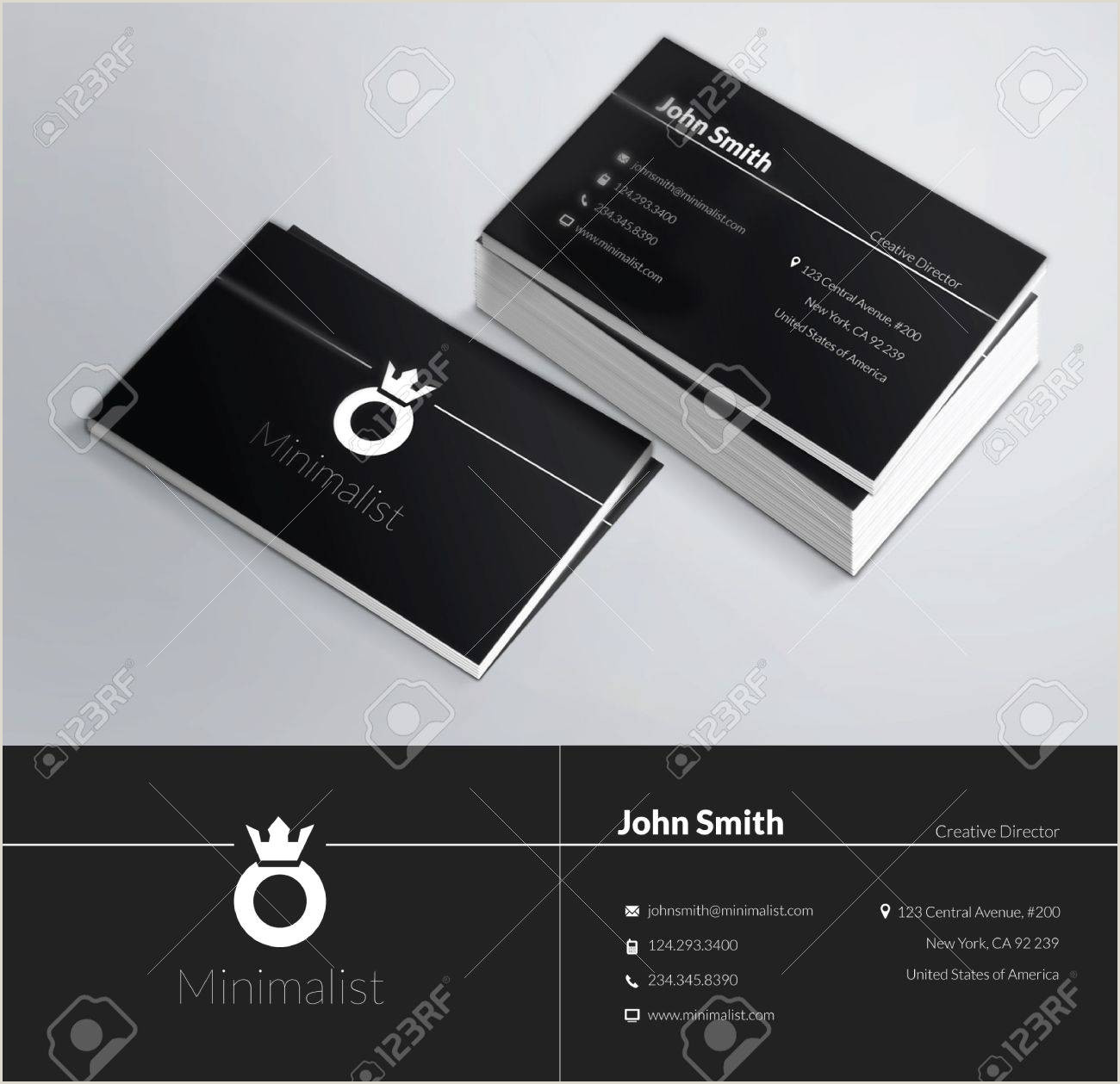 """Unique Business Cards """"nancy Nikko"""" This Is A Modern Clean And Elegant 2 Sided Business Card Perfect"""