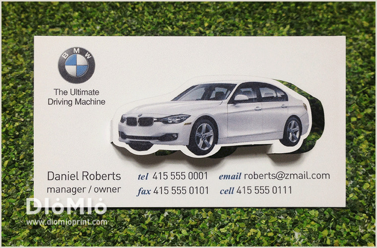Unique Business Cards Bmw Diomioprint Bmw Business Card