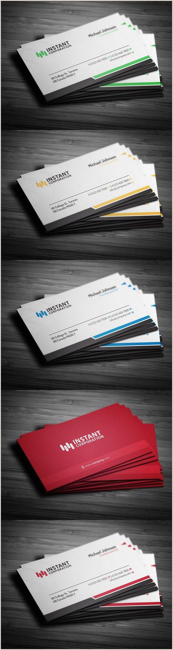 Unique Business Cards Canada Corporate Business Card 14