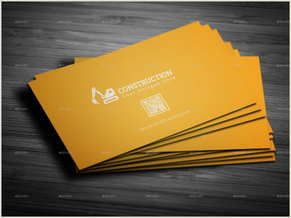 Unique Business Cards Construction 35 Free Construction Business Template Ms Word Coreldraw