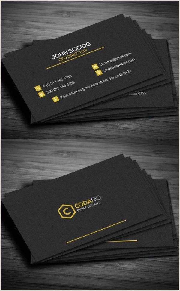 Unique Business Cards Construction 51 New Professional Business Card Psd Templates Construction