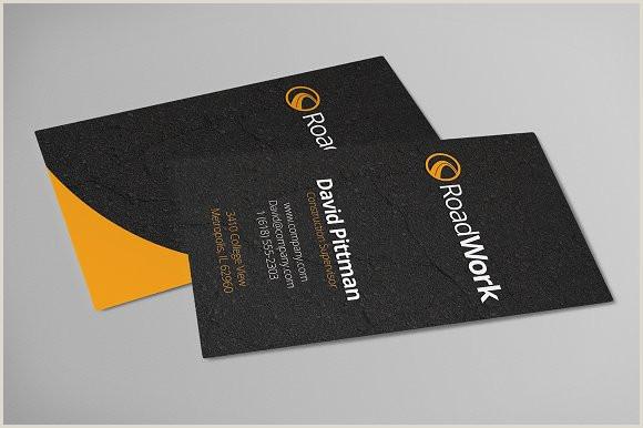 Unique Business Cards Construction Construction Business Cards