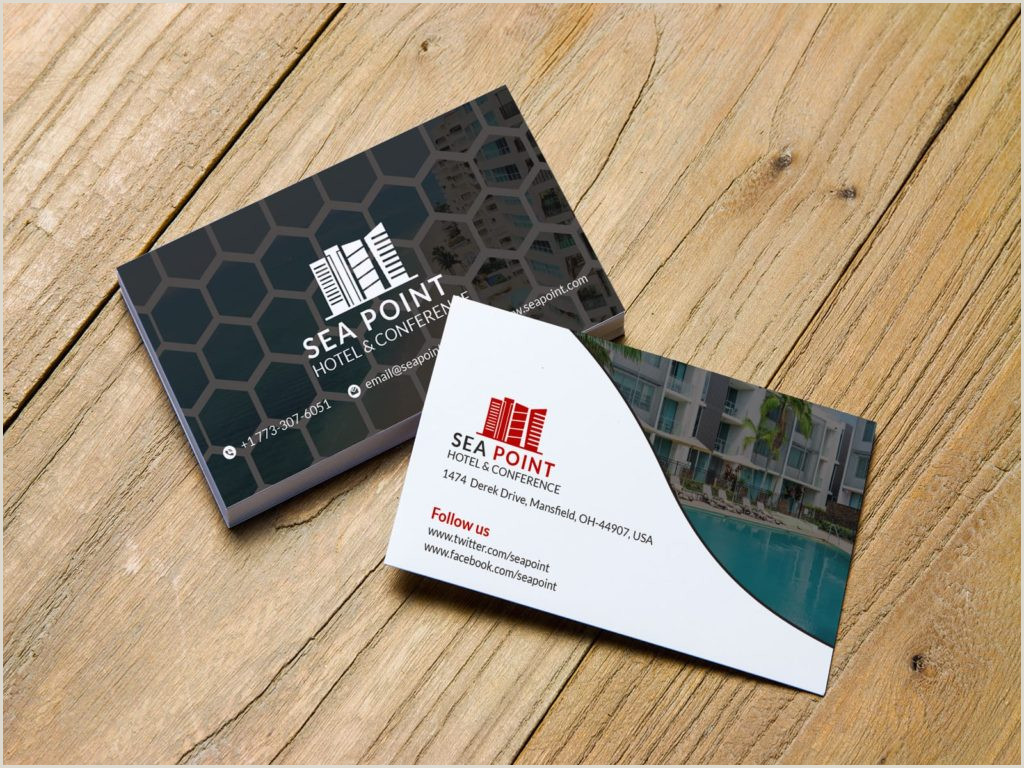 Unique Business Cards Container Hotel 5 Best Business Cards For Hotel 2020