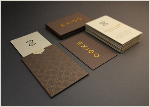 Unique Business Cards Container Hotel A Collection Elegant Business Cards With Gold Designs