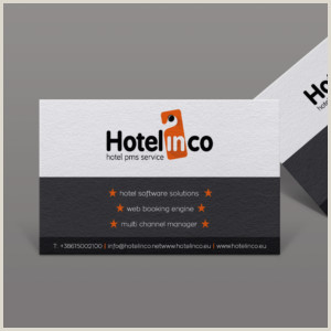 Unique Business Cards Container Hotel Hotel Business Cards