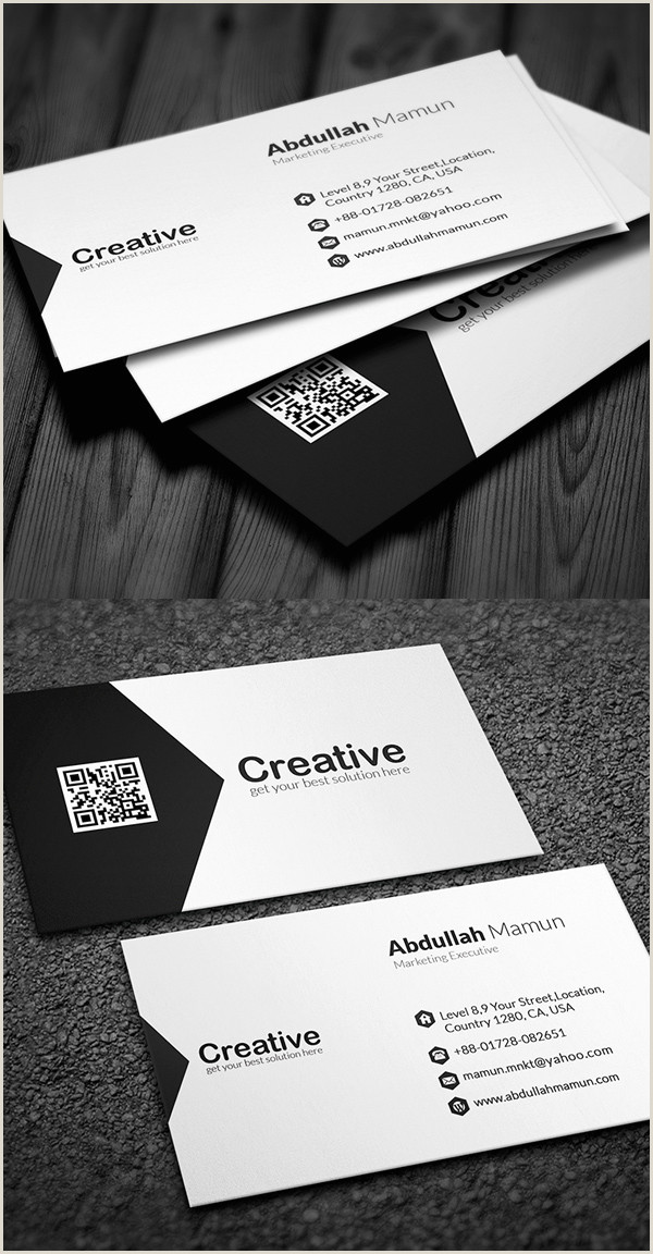 Unique Business Cards Design Modern Modern Business Cards Design 26 Creative Examples