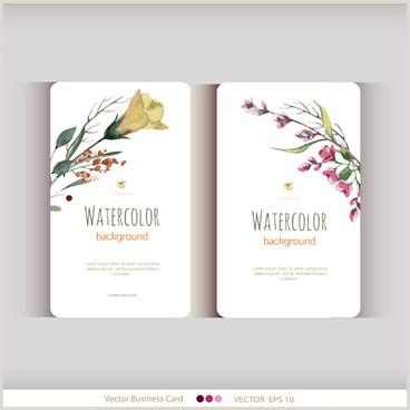 Unique Business Cards Florist Business Card Flower Shop Free Vector 36 441 Free