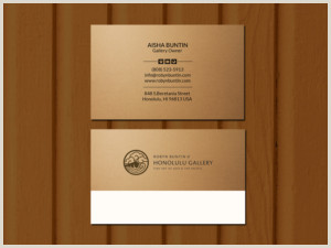 Unique Business Cards For Artists Art Gallery Business Cards