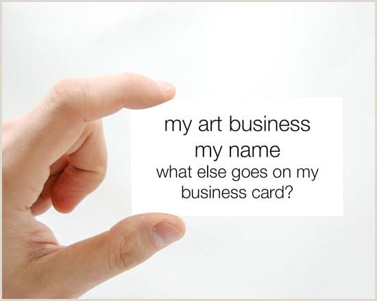 Unique Business Cards For Artists Business Cards For Artists Art Business Info For Artists