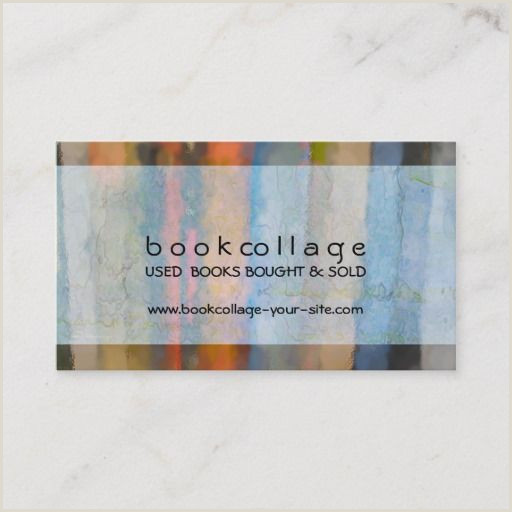 Unique Business Cards For Books 166 Best Book Store Business Cards Images In 2020