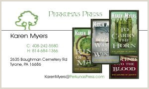 Unique Business Cards For Books Business Cards For Authors