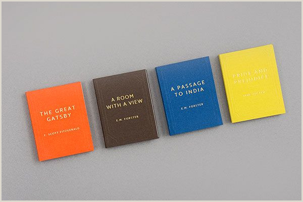 Unique Business Cards For Books Business Cards Resembling Hard Cover Books By Foreign Policy