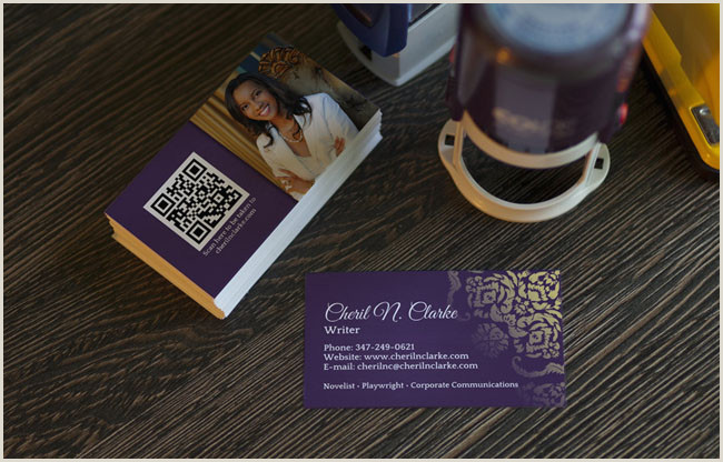 Unique Business Cards For Books Free Author Business Card Templates · Adazing
