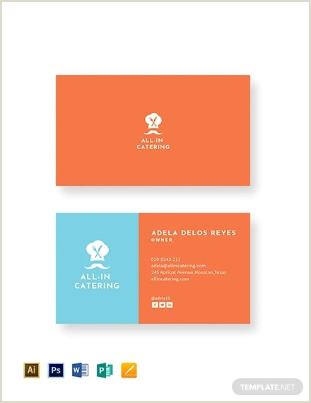 Unique Business Cards For Chefs 22 Creative Chefs Business Card Templates Psd Word Ai
