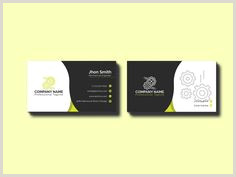 Unique Business Cards For Engineers 10 Mechanical Engineer Business Cards Images