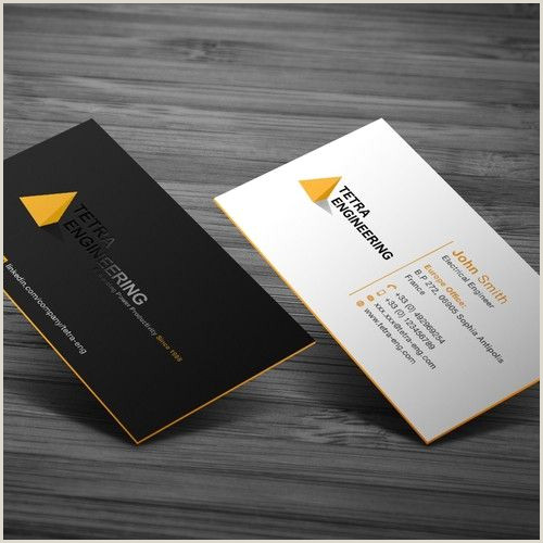 Unique Business Cards For Engineers Business Card For Consultancy Business Card Contest Ad