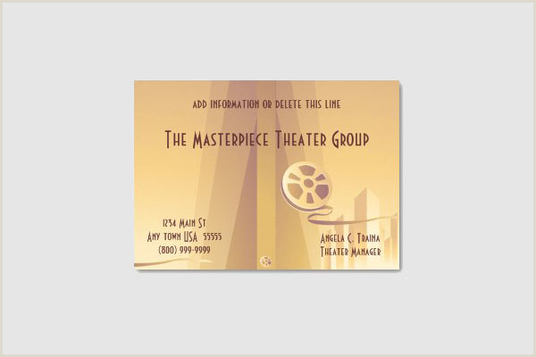 Unique Business Cards For Film 50 Incredible And Theater Business Cards Sitepoint