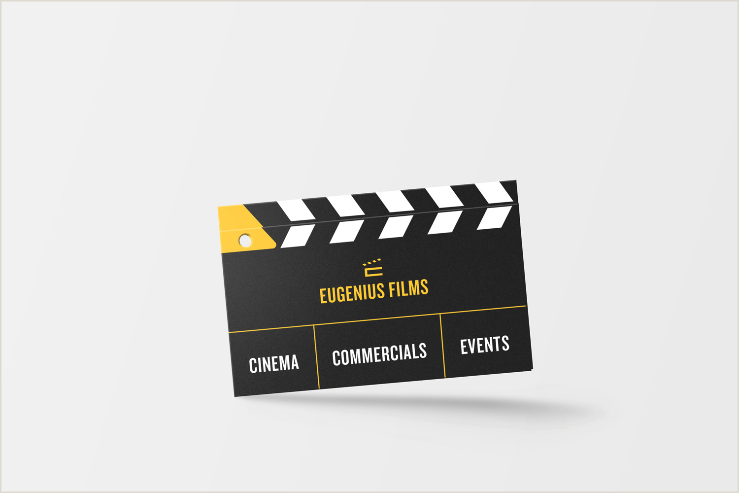 Unique Business Cards For Film Business Card For A Film Pany