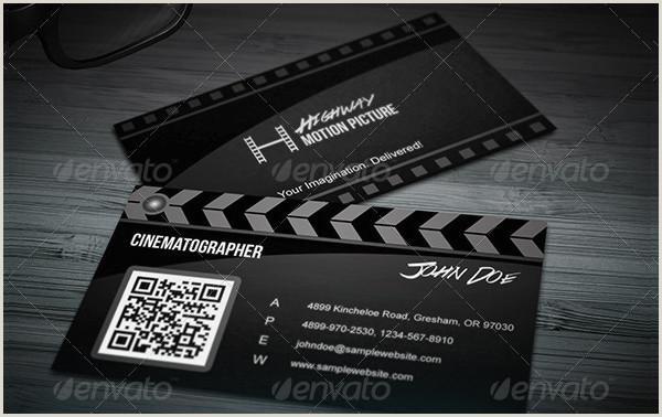 Unique Business Cards For Film Business Card Template 25 Free & Premium Designs