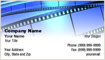 Unique Business Cards For Film Production Business Cards