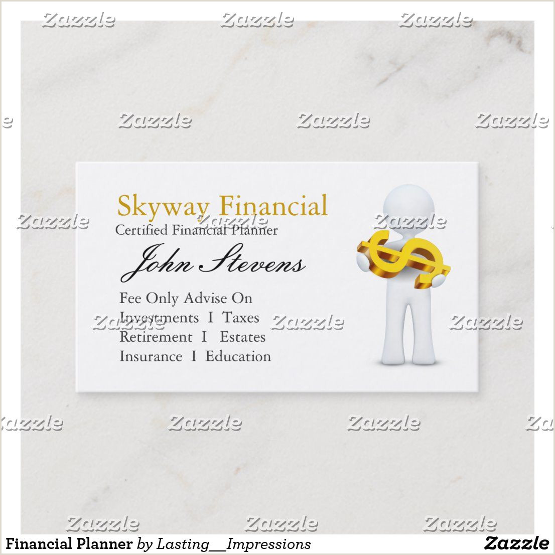 Unique Business Cards For Financial Advisors Financial Planner Business Card