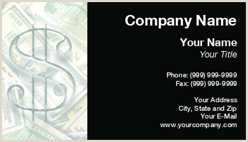Unique Business Cards For Financial Advisors Investment Advisor Business Cards